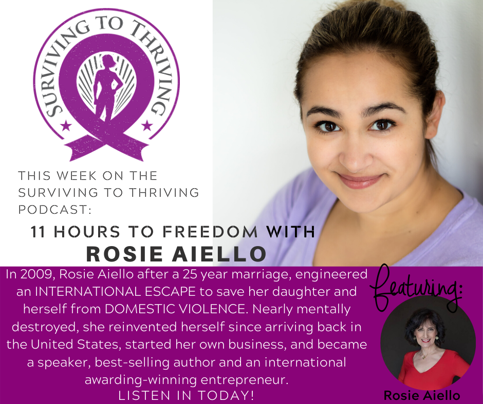 11 hours to freedom rosie aiello